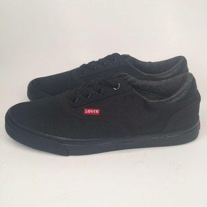 LEVI'S Canvas Shoes Low Top Lace Up Sneakers 8